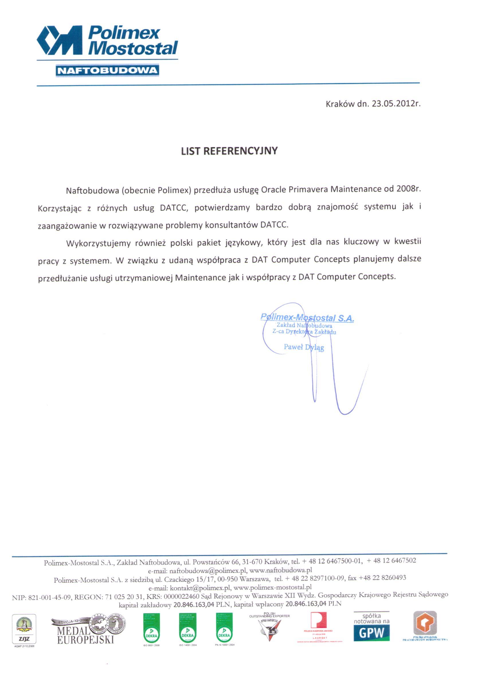 Polimex-Mostostal S.A., Zakład Naftobudowa